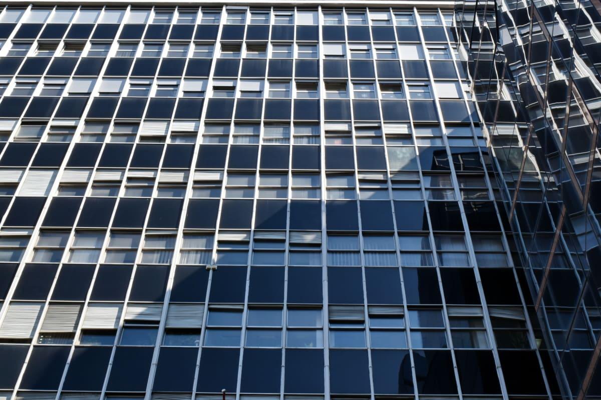 Город, Архитектура, окно, отражение, Перспектива, Технология, футуристический, современные