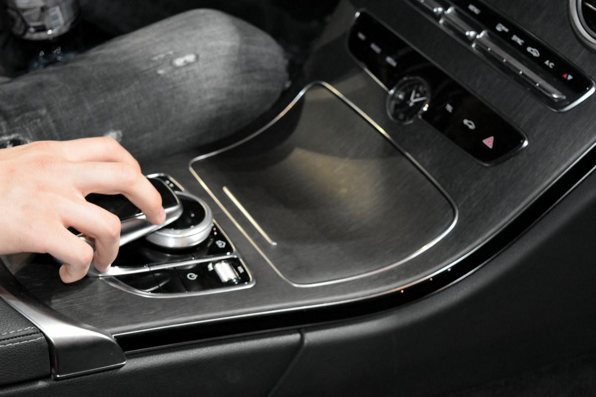 gearshift, interior decoration, hand, automobile, automotive, car, control, device