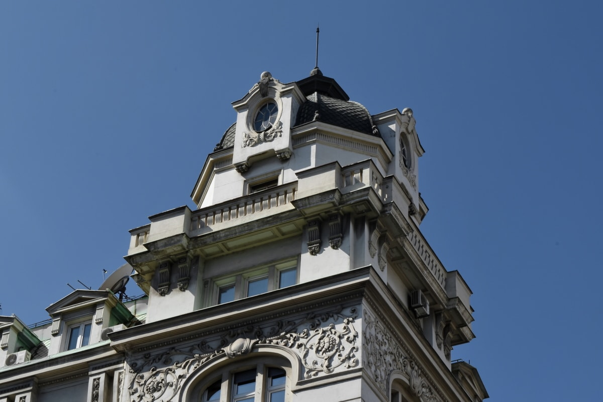 capital city, tower, architecture, building, old, city, outdoors, house