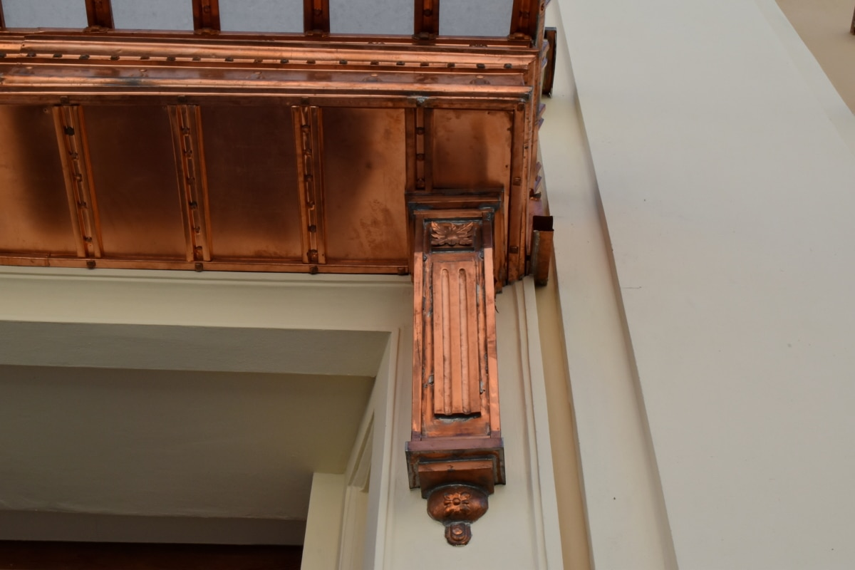copper, facade, architecture, building, home, house, daylight, outdoors