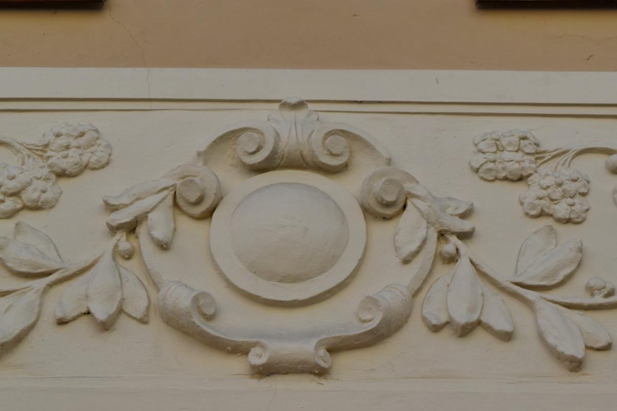 dekorace, umění, návrh, starožitnost, architektura, ročník, styl, staré
