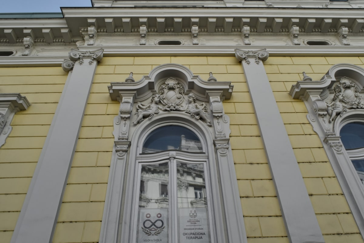 building, facade, architecture, city, capital, sculpture, marble, old