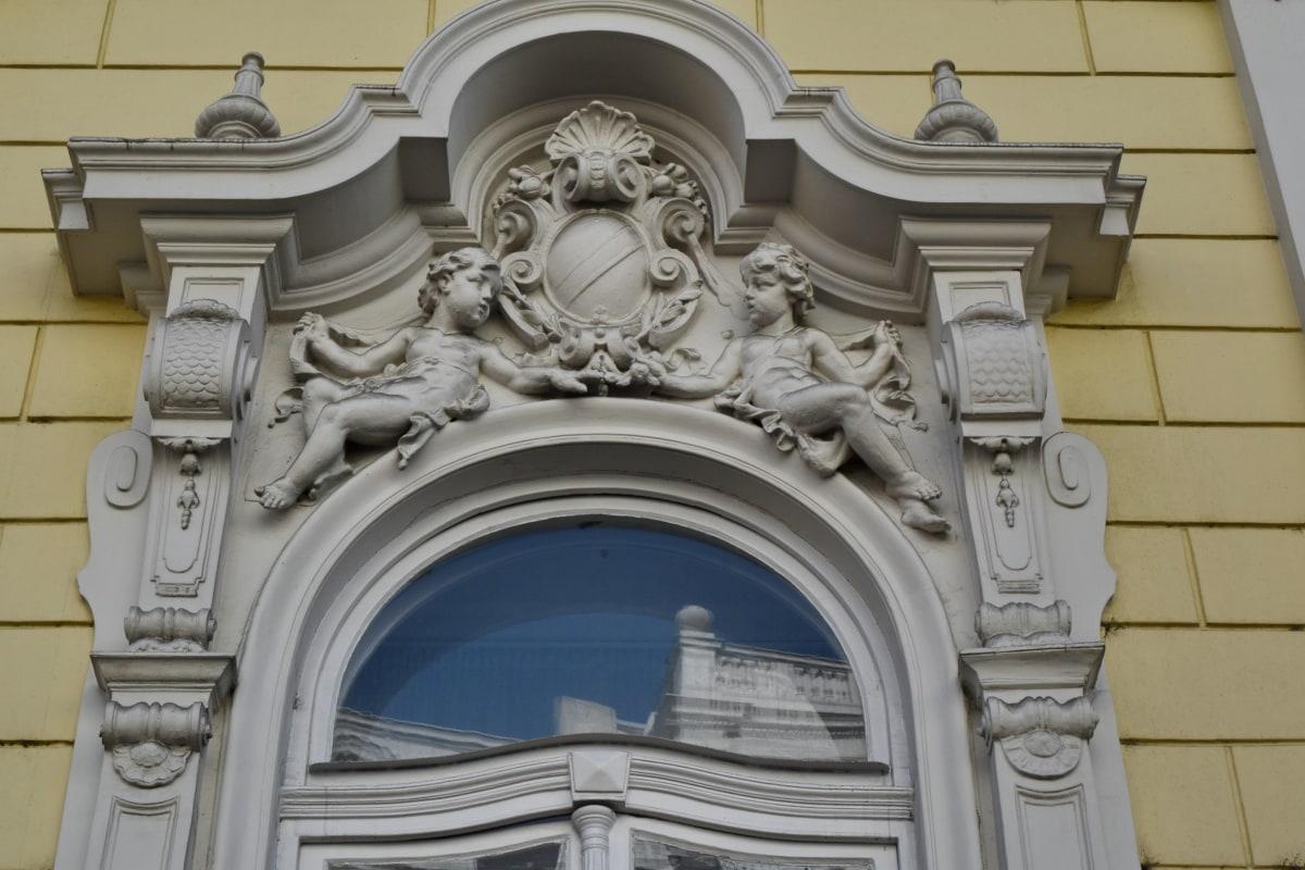architecture, building, classic, marble, sculpture, old, antique, baroque