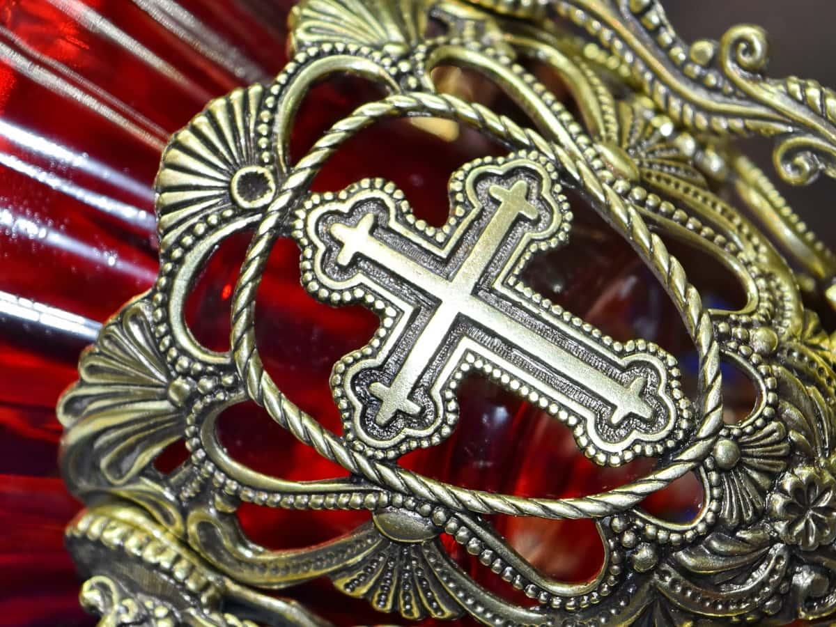 antiquity, cross, gold, handmade, decoration, art, religion, pattern