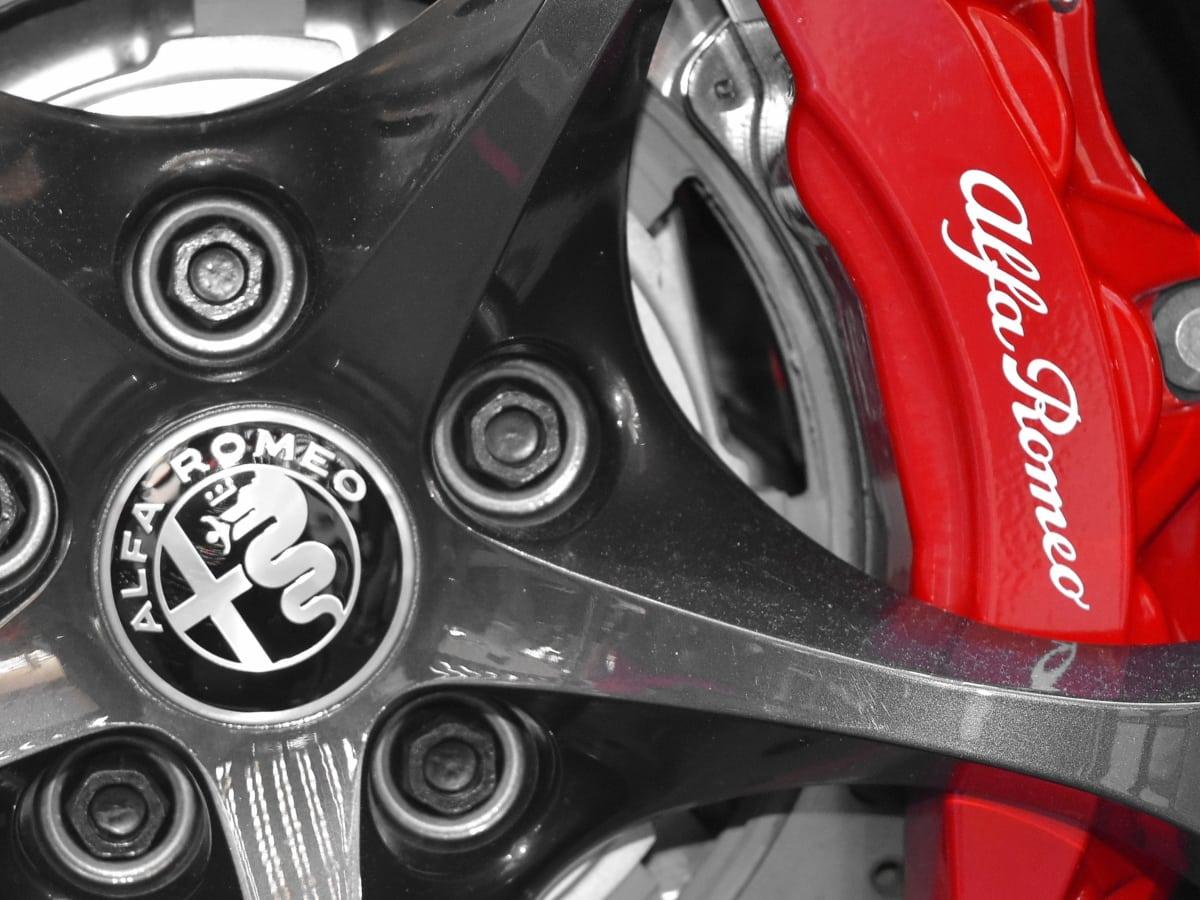 brake, detail, vehicle, steering wheel, car, automobile, transportation, technology