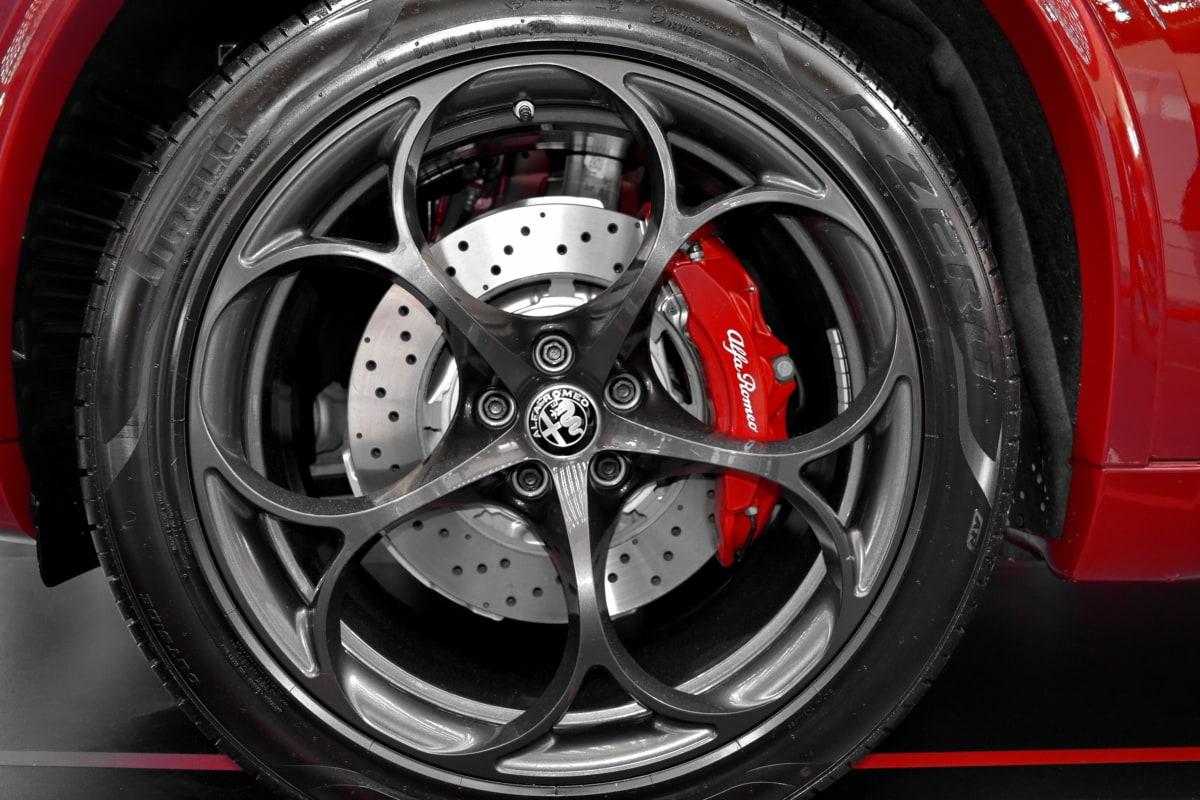 aluminum, brake, car, expensive, tire, machine, transportation, vehicle