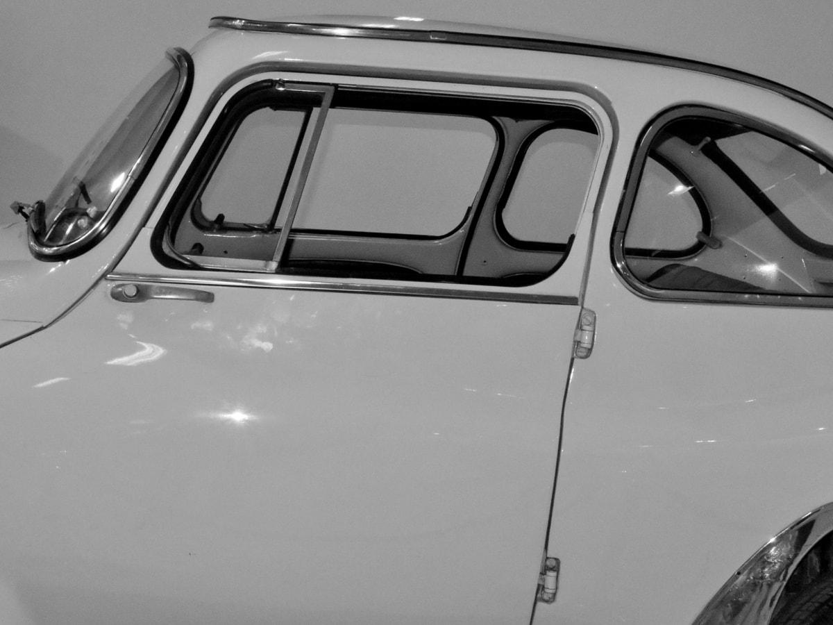 čierna a biela, klasický, História, nostalgie, vozidlo, automobil, preprava, auto