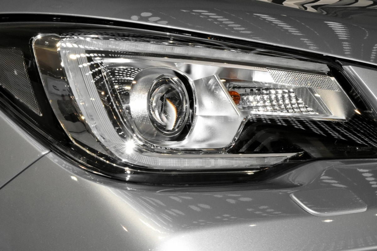 expensive, headlight, light bulb, metallic, reflection, automobile, vehicle, car