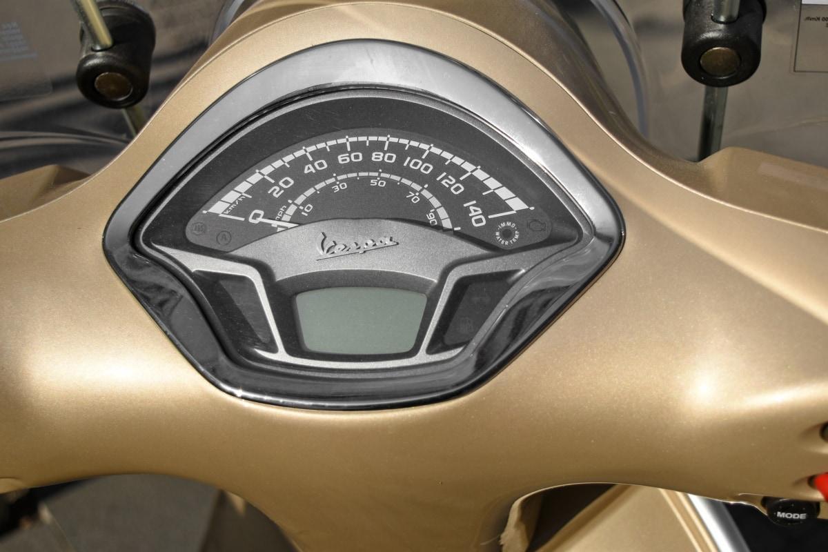 dashboard, motorcyclist, speedometer, control, steering wheel, drive, vehicle, fast