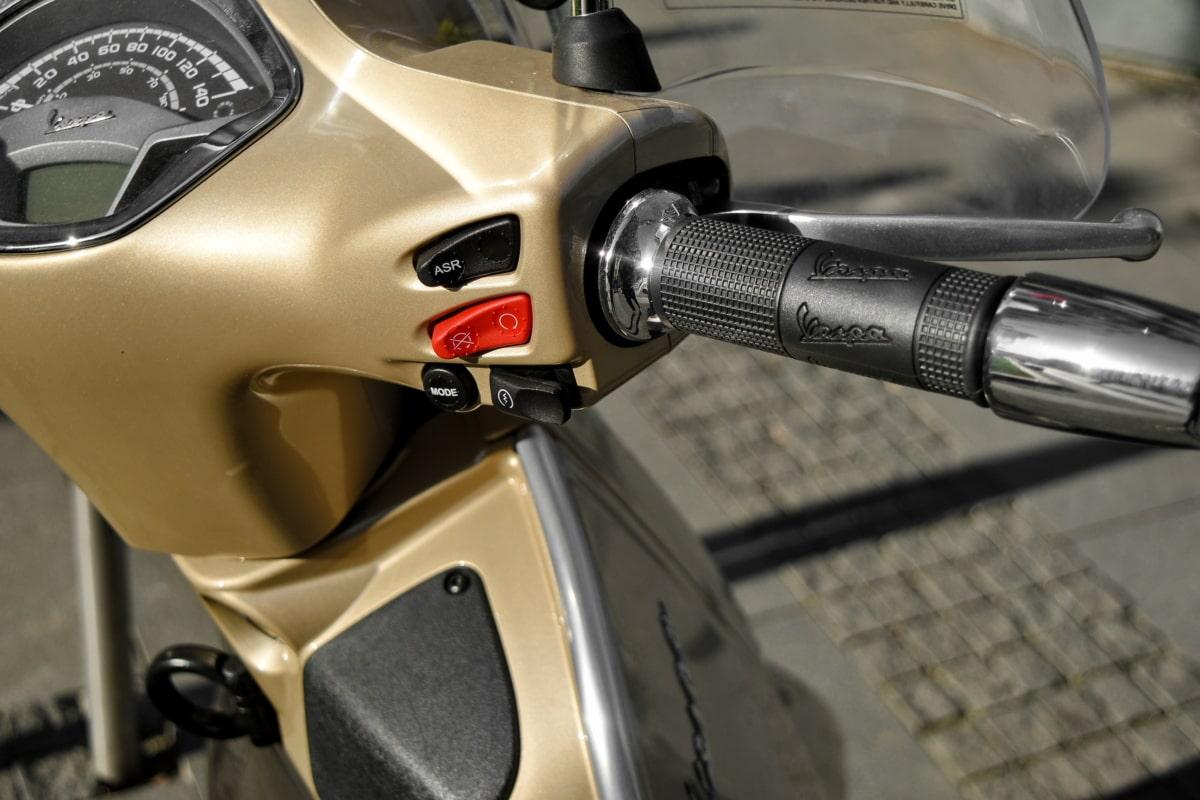 motorcycle, speedometer, gearshift, mechanism, vehicle, wheel, equipment, technology