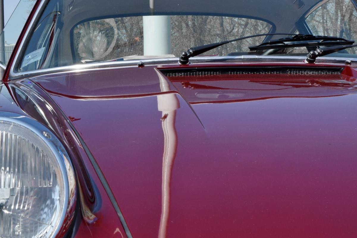 headlight, windshield, vehicle, car, chrome, drive, classic, light