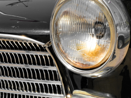 automobile, headlight, nostalgia, car, vehicle, barrier, grille, classic