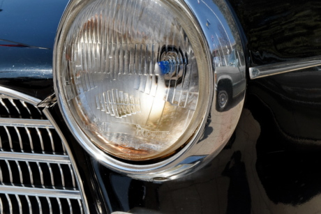 headlight, history, light bulb, nostalgia, car, vehicle, drive, classic