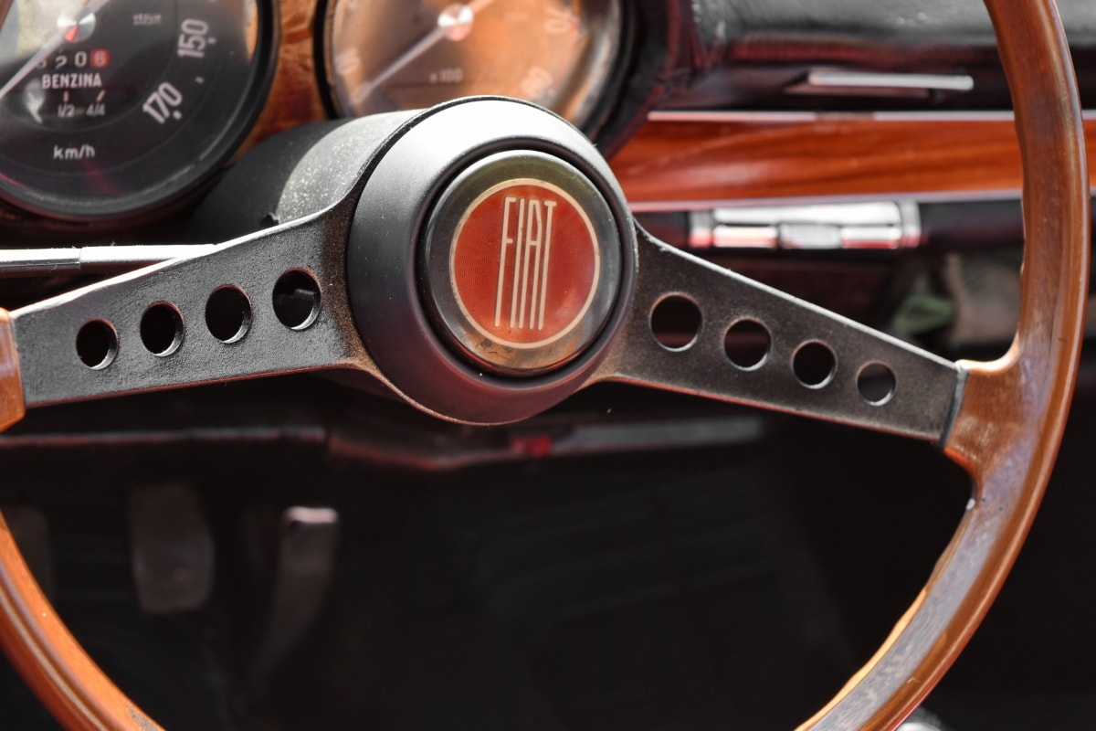 dashboard, gauge, nostalgia, mechanism, steering wheel, transportation, control, car
