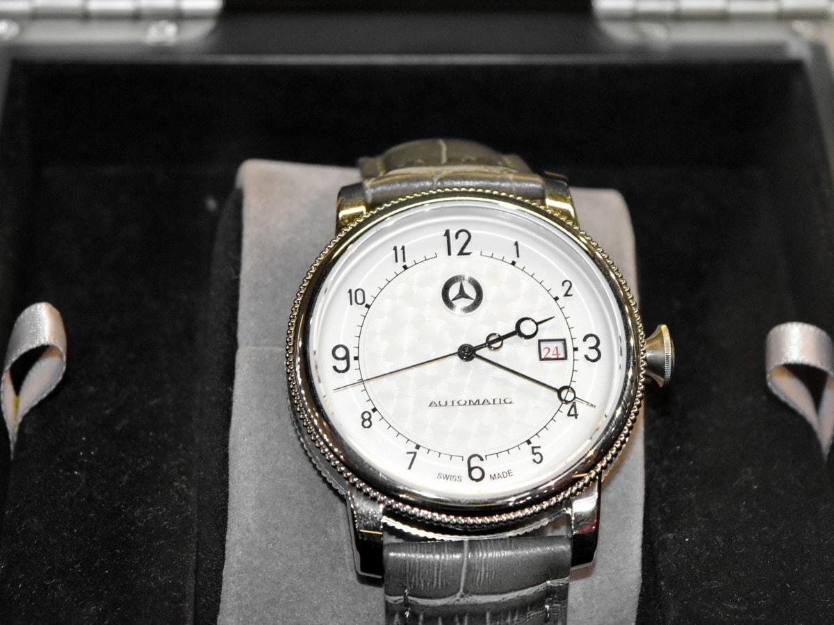 reloj analógico, costoso, moda, lujo, reloj de pulsera, tiempo, instrumento, hora