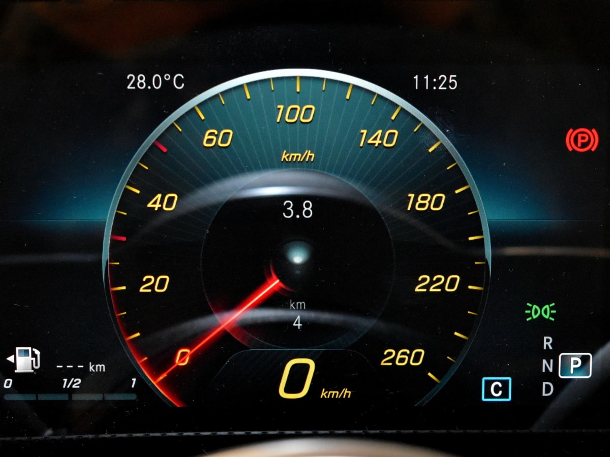 กิโลเมตร, จำกัดความเร็ว, วัดความเร็ว, แดชบอร์ด, ยานพาหนะ, เครื่องดนตรี, รถ, เมตร