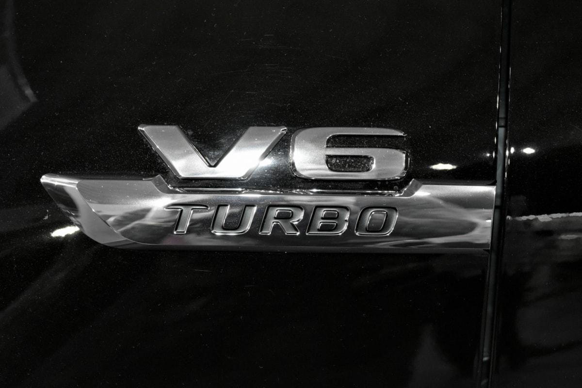 black and white, sign, turbo, vehicle, car, automotive, drive, light