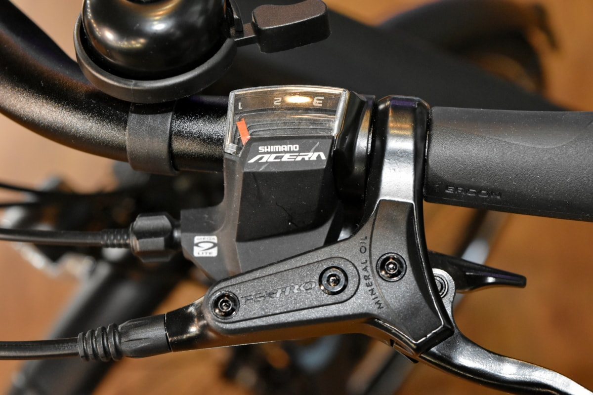 gearshift, mountain bike, steering wheel, device, brake, equipment, bike, technology