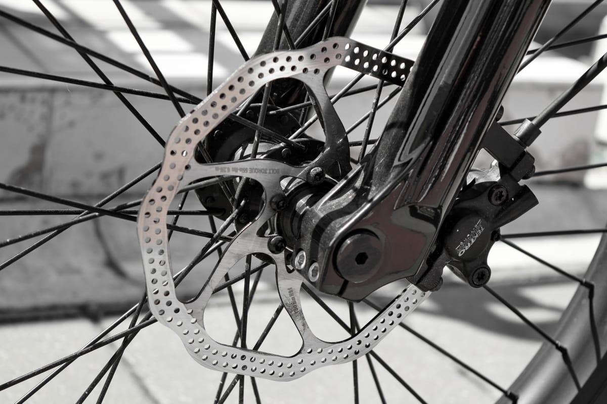 cykel, mountainbike, broms, hjulet, cykel, stål, däck, teknik