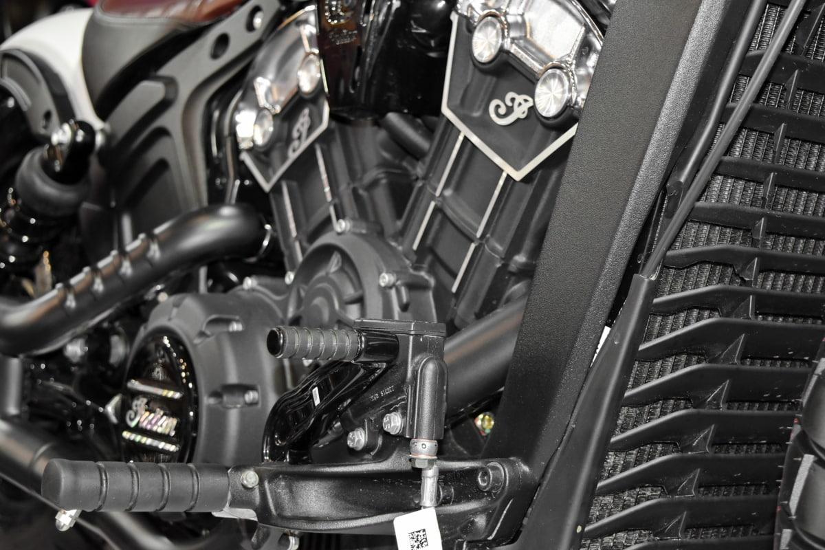 diesel, engine, technology, industry, vehicle, chrome, wheel, steel