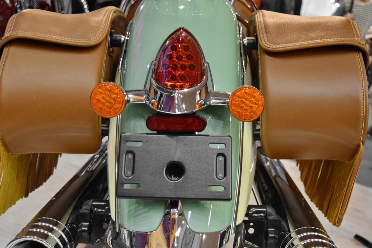 koža, motocikl, klasični, berba, starinsko, stari, luksuzno, skladište