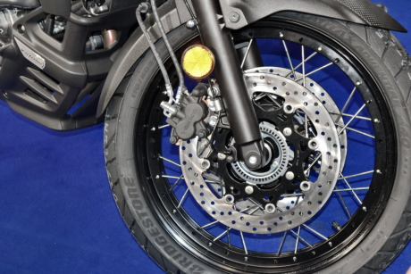 motorcycle, tire, wheel, brake, vehicle, chrome, technology, machine