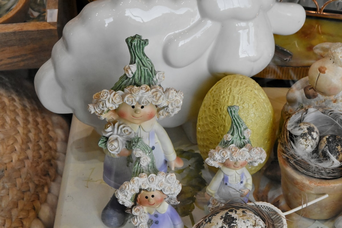 Keramik, Dekoration, Ostern, Porzellan, Vase, Container, Keramik, traditionelle