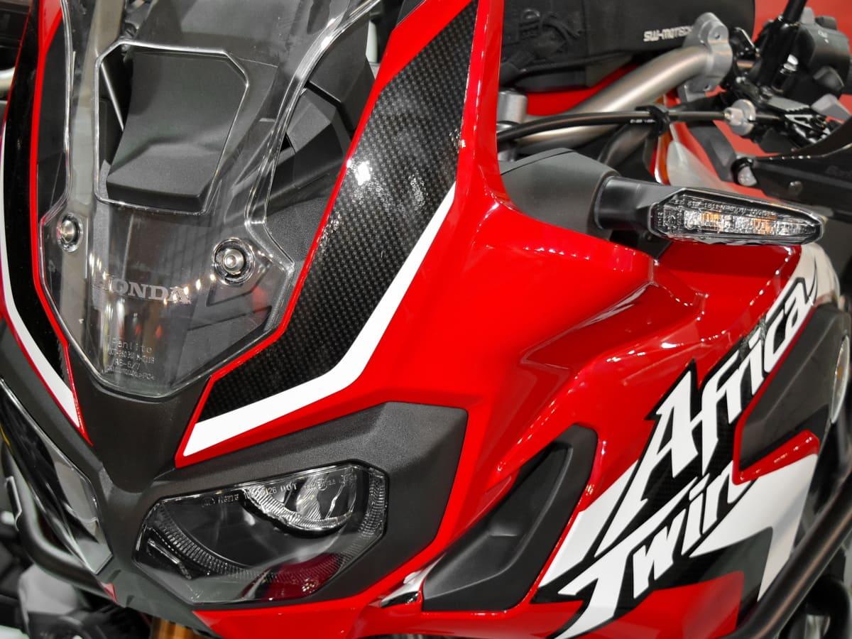 motorcycle, reddish, steering wheel, competition, bike, track, vehicle, drive