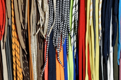 shoelace, vertical, hanging, industry, pattern, fabric, stock, cotton
