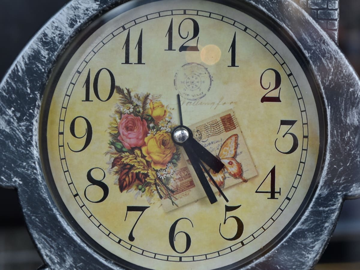 decoration, minute, number, clock, timer, time, alarm clock, timepiece