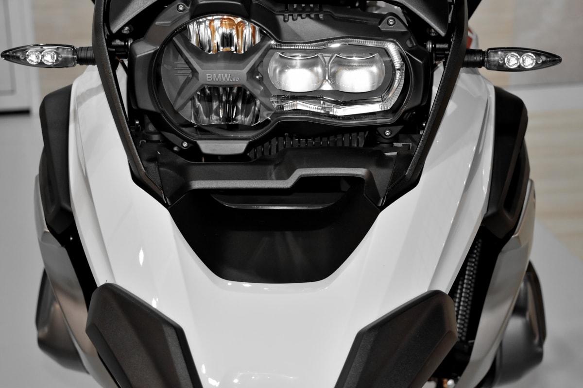 bianco e nero, moto, volante, sedile, trasporto, veicolo, bici, veloce