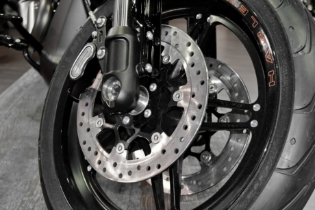brake, chrome, motorcycle, stainless steel, tire, wheel, steel, machinery