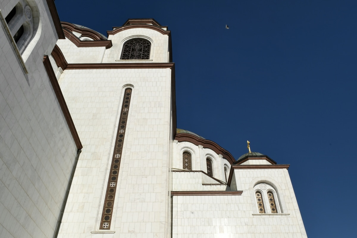 tower, building, architecture, church, religion, covering, outdoors, city