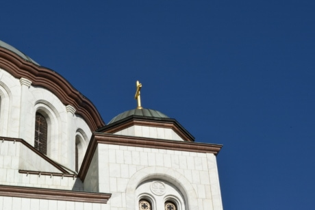 architectural style, Byzantine, famous, dome, church, architecture, building, cross