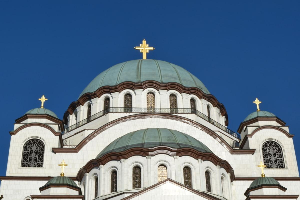 hlavné mesto, budova, dome, Architektúra, kostol, štruktúra, náboženstvo, kríž