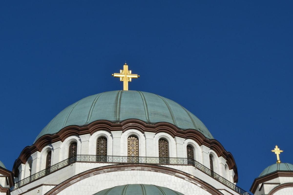 kirke, religion, arkitektur, der dækker, bygning, Tag, kupoli, city