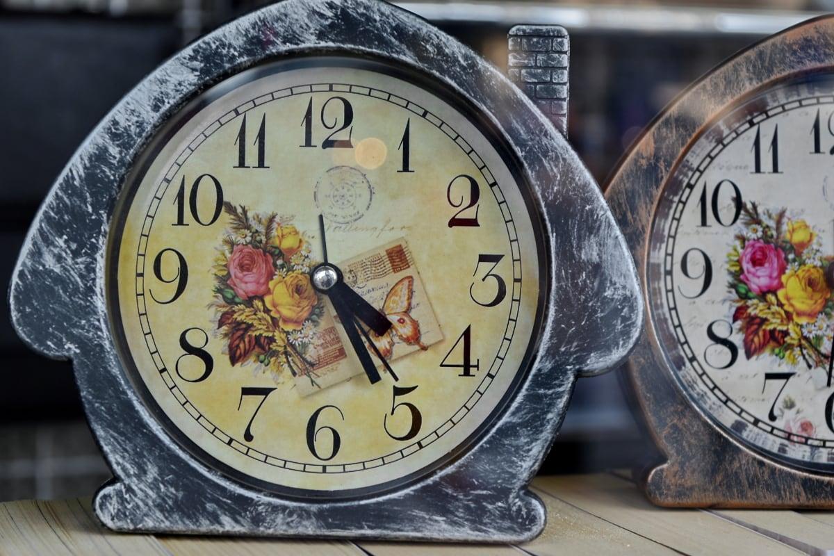 still life, vintage, minute, hand, clock, analog clock, time, number