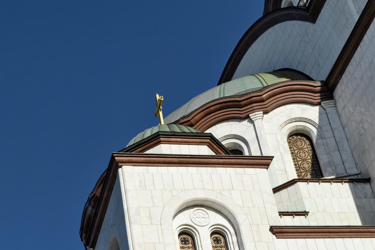 katto, kupoli, uskonto, kirkko, arkkitehtuuri, rakentaminen, katedraali, kaupunki