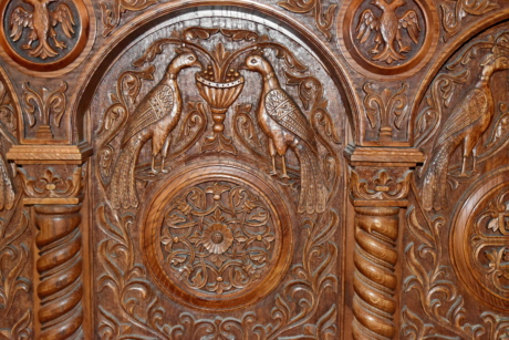 carving, decoration, furniture, relief, art, pattern, old, sculpture