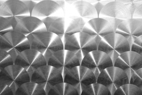 geometric, metal, metallic, shining, stainless steel, pattern, design, abstract