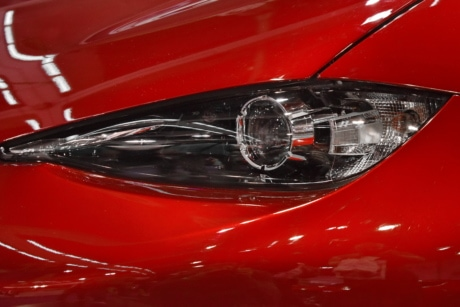 headlight, modern, red, sports car, speed, transportation, automobile, vehicle