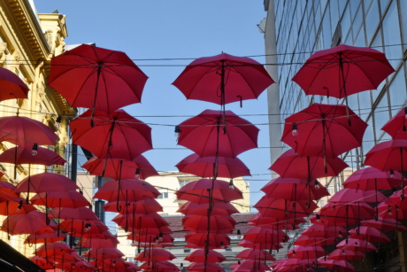 umbrella, color, outdoors, city, culture, design, art, symbol
