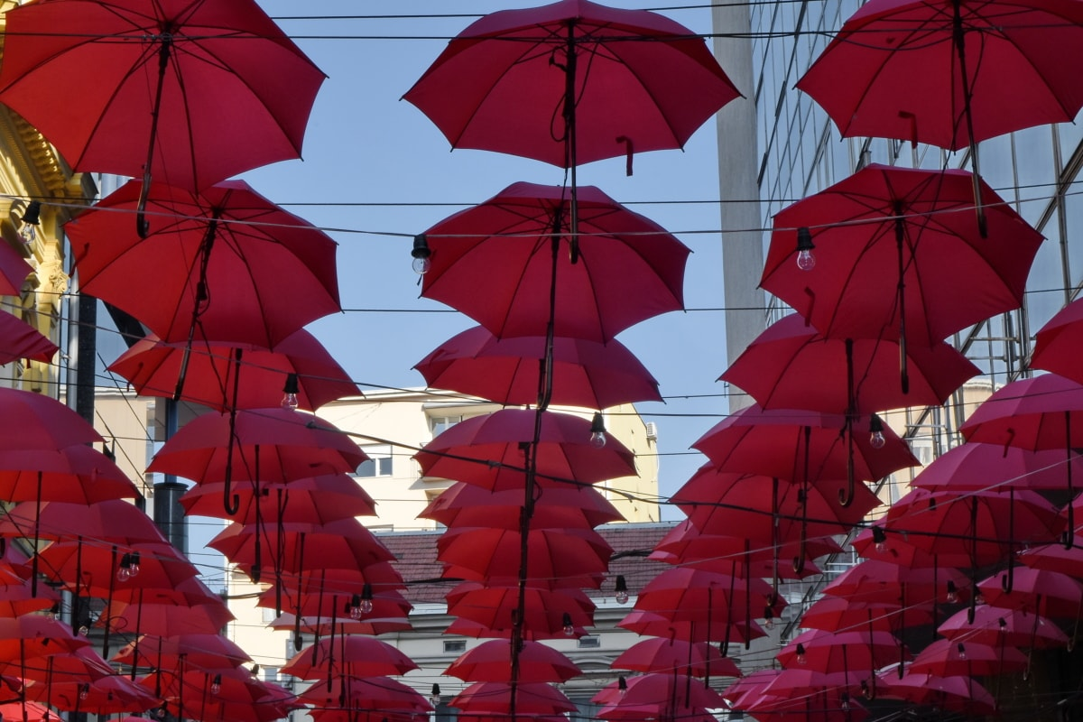 decoration, street, umbrella, color, pattern, design, symbol, festival