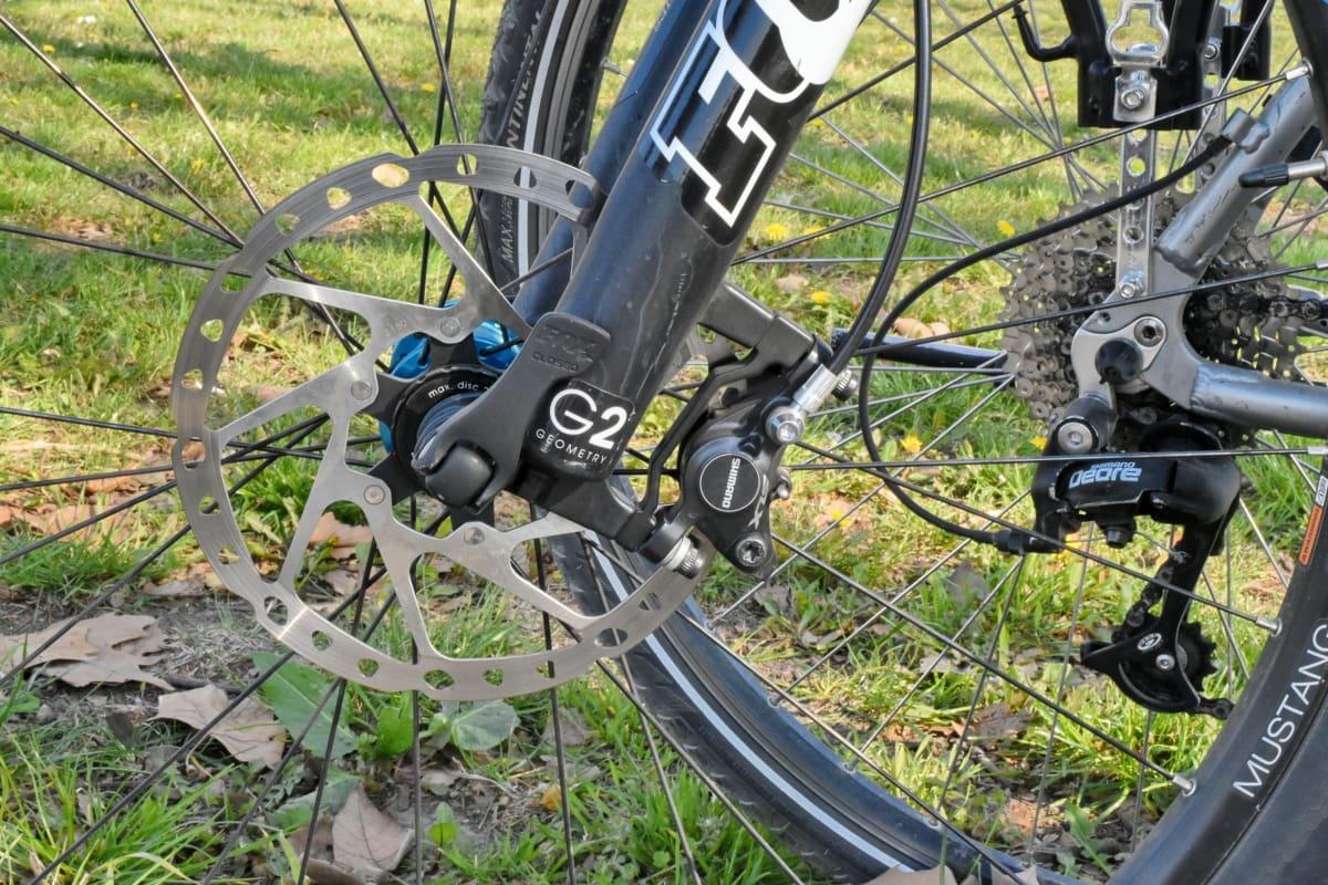 链, 档, 山地自行车, 轮, 自行车, 自行车, 制动, 设备