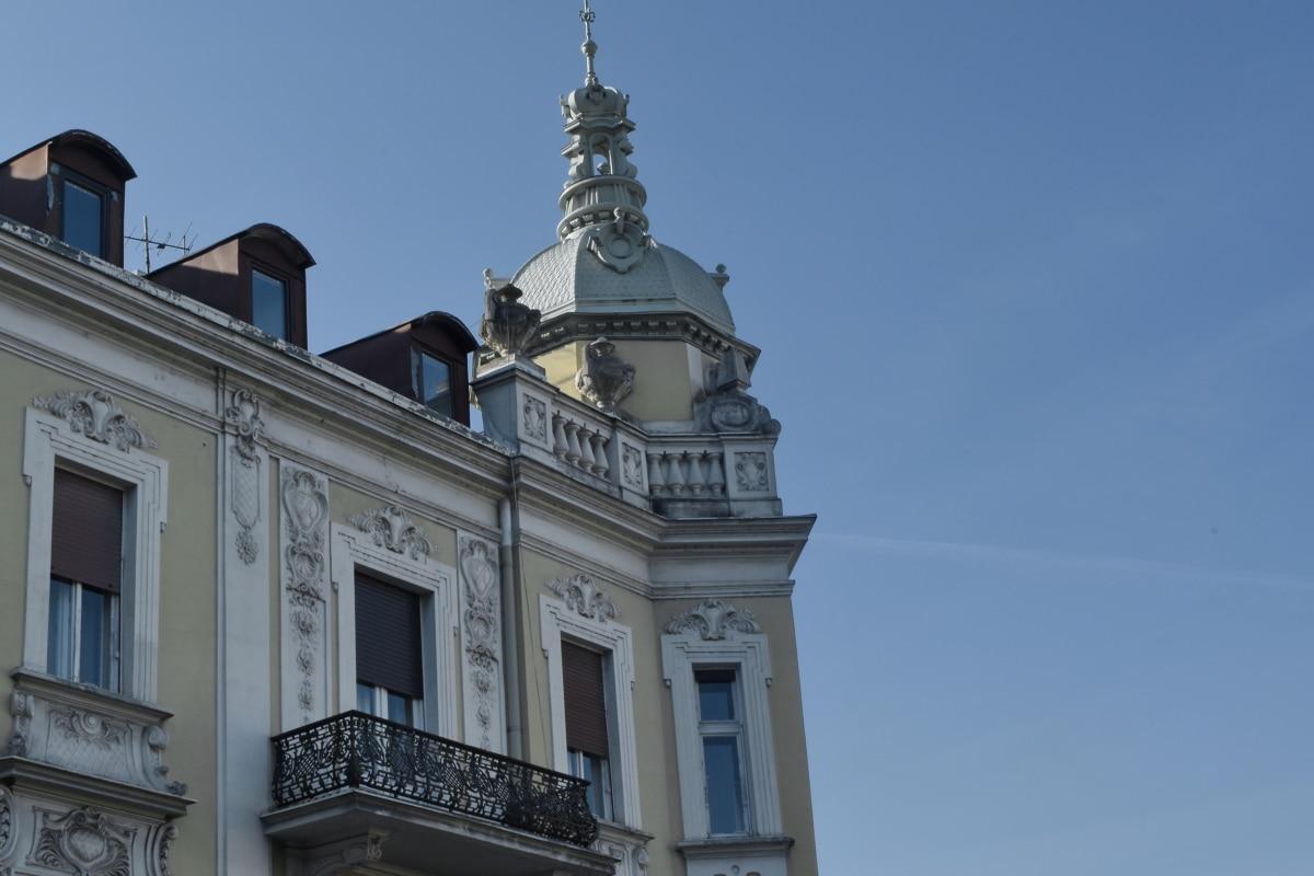 palatsi, julkisivu, rakentaminen, arkkitehtuuri, asuinpaikka, ulkona, vanha, kaupunki