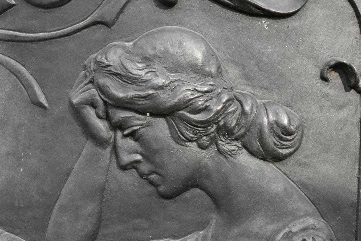 woman, statue, sculpture, art, ancient, portrait, symbol, culture
