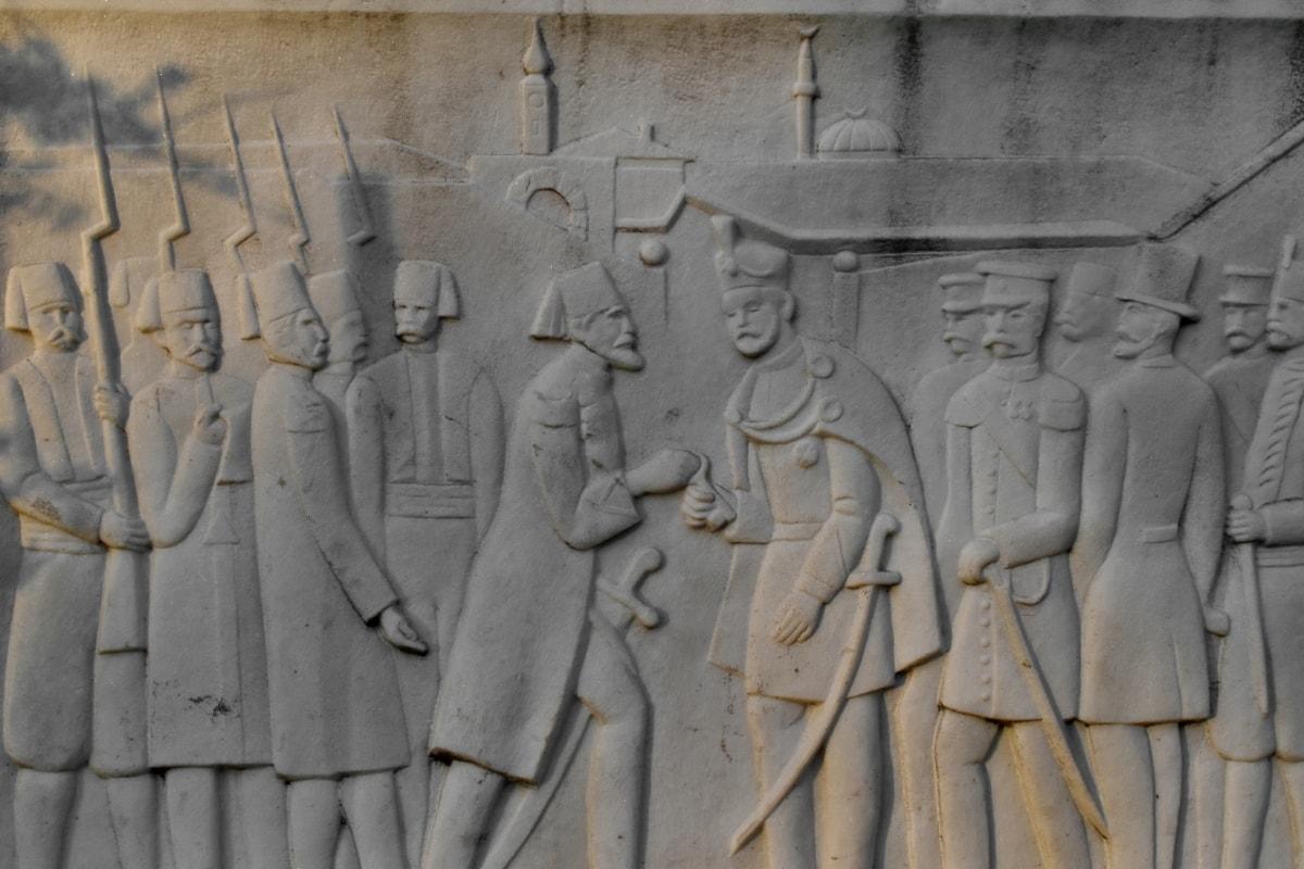 capital city, oriental, relief, sculpture, art, texture, stone, old