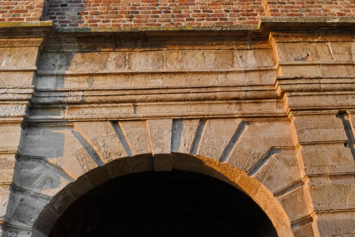kiến trúc, pháo đài, pháo đài, thời Trung cổ, bức tường, cũ, kiến trúc, xây dựng