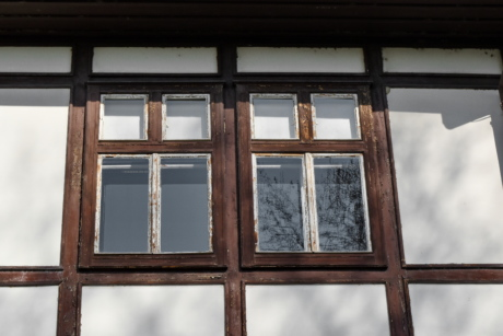 window, architecture, building, house, wood, wall, construction, old