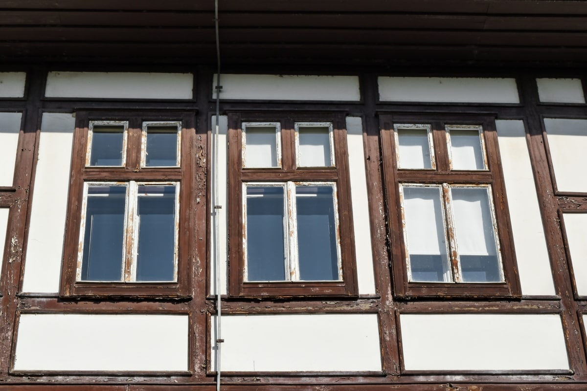 หน้าต่าง, อาคาร, สถาปัตยกรรม, เฮ้าส์, บ้าน, ไม้, ผนัง, เก่า